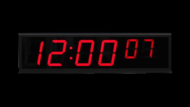 NTP digitale klok